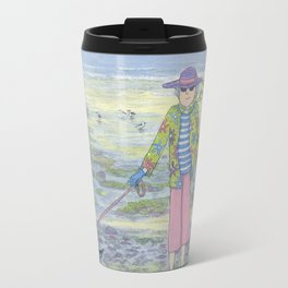 Ethel and Bertie by the sea Travel Mug