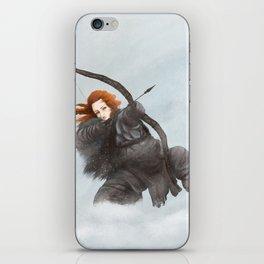 Redhead archer iPhone Skin