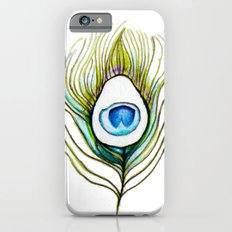 Peacock Feather iPhone 6s Slim Case
