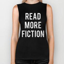 Vintage Read More Fiction Books Biker Tank