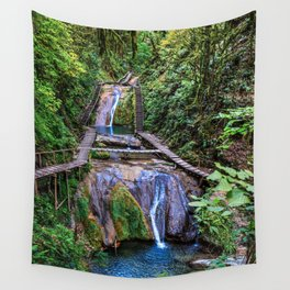 Valley of 33 waterfalls Wall Tapestry