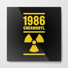 Chernobyl 1986 Metal Print