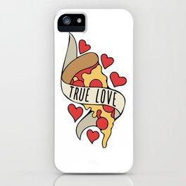 True love Pizza Slice iPhone Case