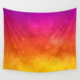 Vivid Ombre Watercolor 11 Wall Tapestry
