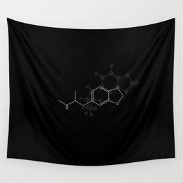 Ecstasy Molecule Wall Tapestry