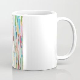 vertical brush strokes  Coffee Mug