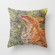 Scenting Sunshine Throw Pillow
