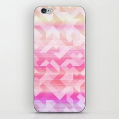 Geometric Sunset iPhone & iPod Skin