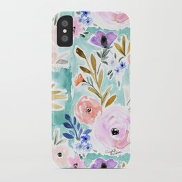 Willow Floral iPhone Case