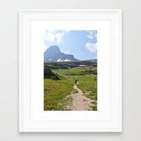 montana Framed Art Prints featuring Montana by GinaGorsek