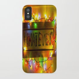 Word that defines a generation? iPhone Case