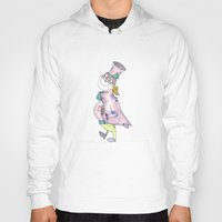 mad hatter Hoodies featuring Mad Hatter by Melissa DiPeri