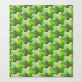 All-Green Alhambra Canvas Print