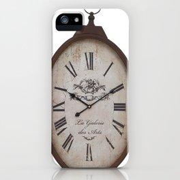 Vintage Clock iPhone Case