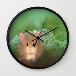 Little Worried Walter Wall Clock