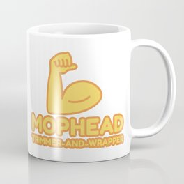 MOPHEAD TRIMMER-AND-WRAPPER - funny job gift Coffee Mug