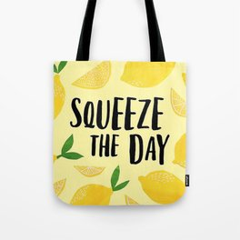 Squeeze the Day Pattern Tote Bag