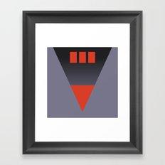 vhs box 2 Framed Art Print