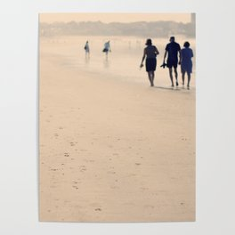 Beach Life - Beach and Ocean photography by Ingrid Beddoes Poster