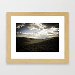 Wildrose Valley Framed Art Print