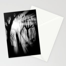 """Forest Light"" | Digital Art Stationery Cards"