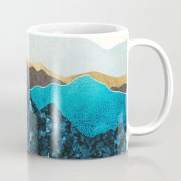 Teal Afternoon Coffee Mug