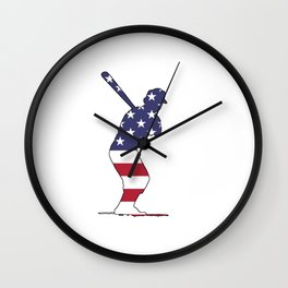 The Batter Wall Clock