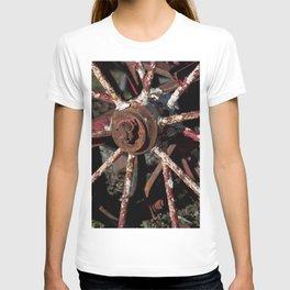 Rusted Wheel T-shirt