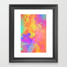 Just Paint Framed Art Print