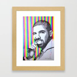 DRAKE Framed Art Print
