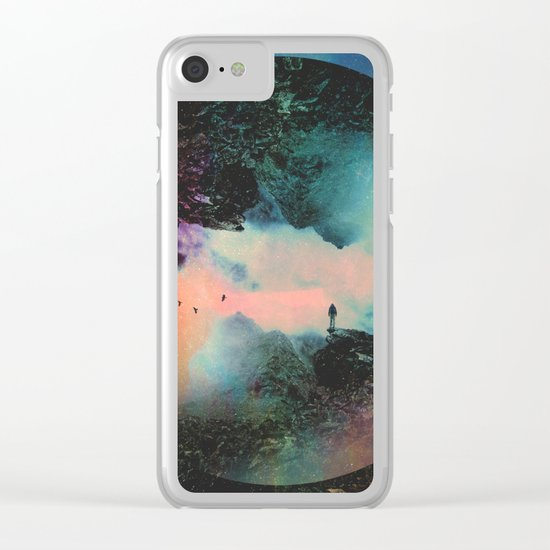 Final Frontier Clear iPhone Case