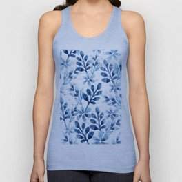 Watercolor Floral VIII Unisex Tank Top