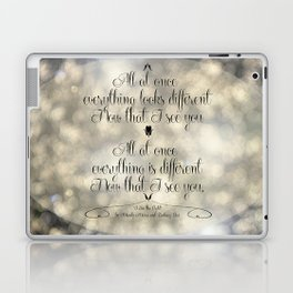 """""""I See the Light"""" by Mandy Moore and Zachary Levi from the movie """"Tangled"""" Laptop & iPad Skin"""