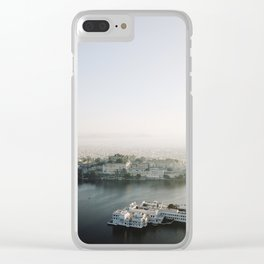 Udaipur Blue Clear iPhone Case