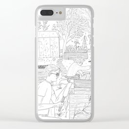 beegarden.works 005 Clear iPhone Case
