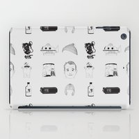 bill murray iPad Cases featuring Bill Murray x 9 by Nathalie Otter