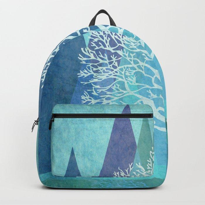 Winter Tree #Society6 #decor #buyart Backpack