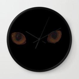 Sekhmet's eyes Wall Clock
