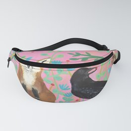 Fox and Raven Fanny Pack
