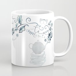 Tea and Books Coffee Mug
