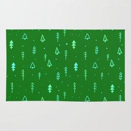 Christmas Tree Pattern Rug