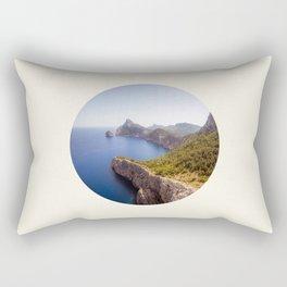 Earth Meets Water Rectangular Pillow