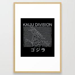 Kaiju Division Framed Art Print