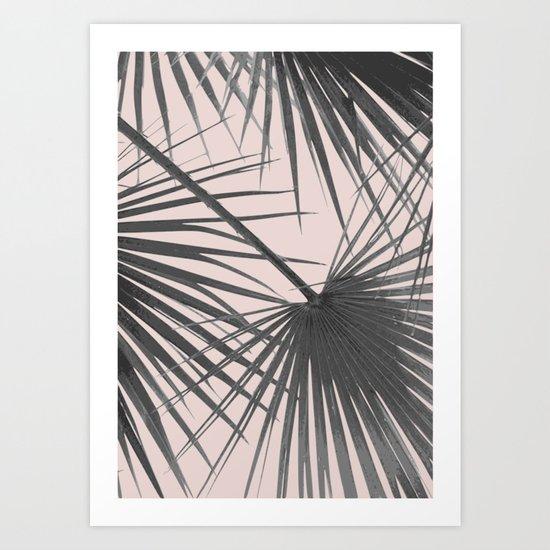 Palm web Art Print