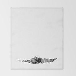 Phonetic - Singular #494 Throw Blanket
