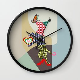 Doggy Dance Wall Clock