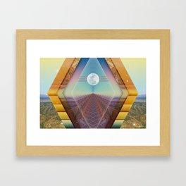 Internal Framed Art Print