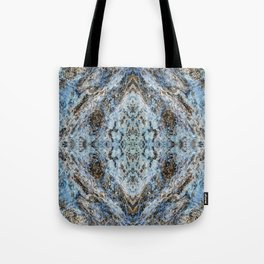 Southwestern Turquoise Pattern Tote Bag