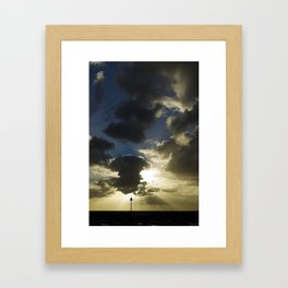 Sunset in Gran Canaria Framed Art Print