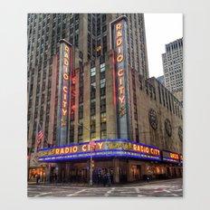 Radio City Music Hall Canvas Print